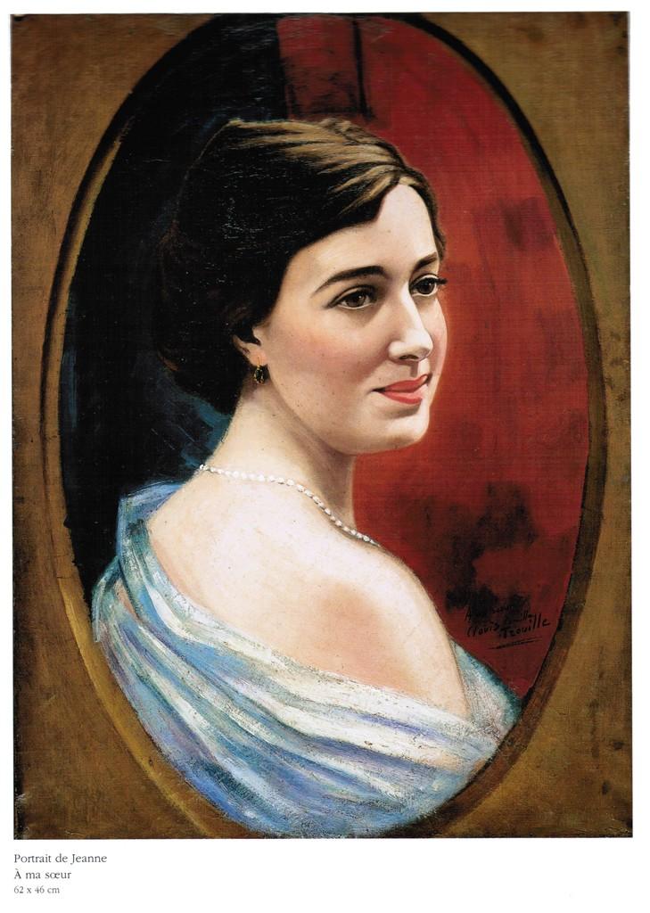Portrait de Jeanne À ma sœur