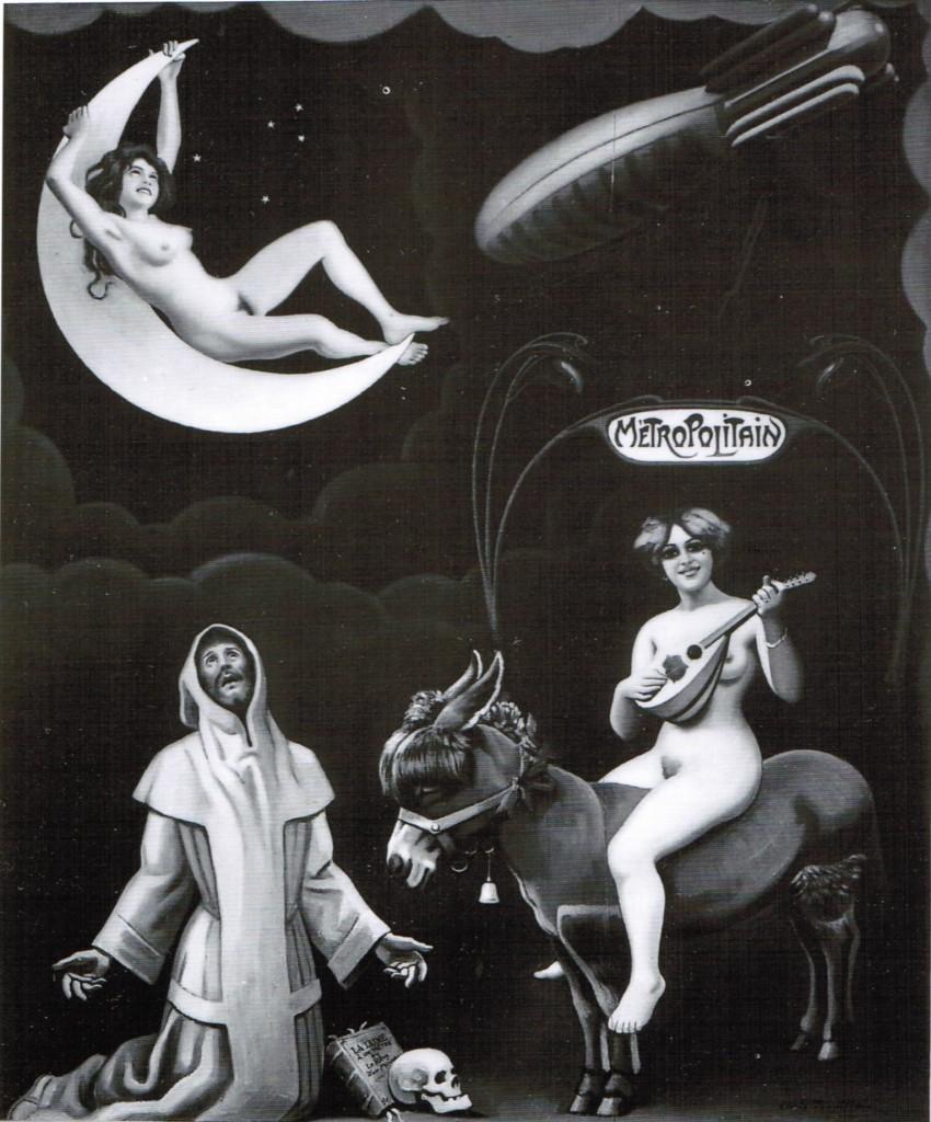 La lune à un mètre ou le rêve d'un moine - Sous le culte des sorcières en flirt