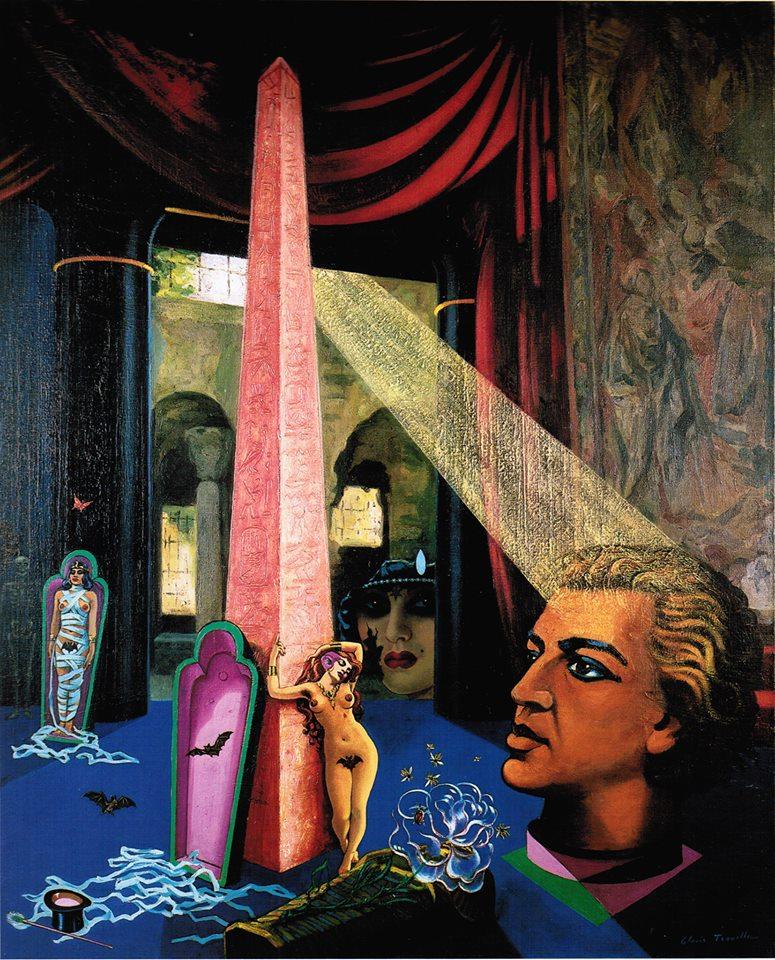 La momie somnambule. 1942. Collection Particulière. André Breton