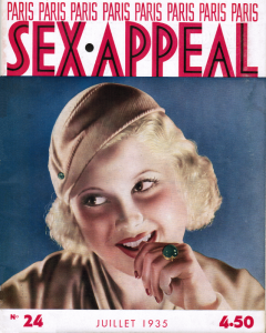 Magazine Sex-Appeal, n°24 Juillet 1935